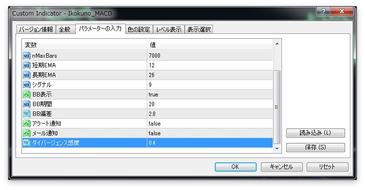 fx-ダイバージェンス
