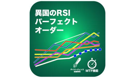 MT4自作インジケーター「RSIパーフェクトオーダー」ダイバージェンスとパーフェクトオーダーの利点を生かす!